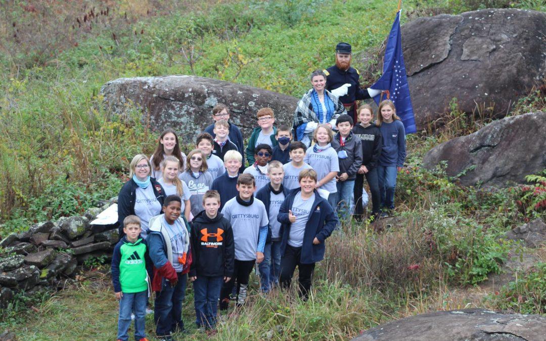 5th Grade Field Trip to Gettysburg Battlefield