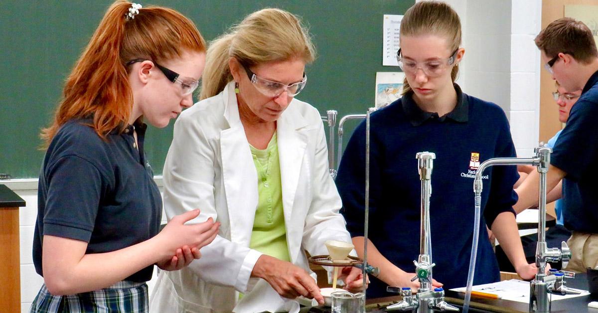 Private school science program